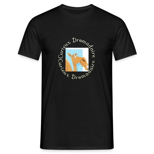 curieux dromadaire - T-shirt Homme