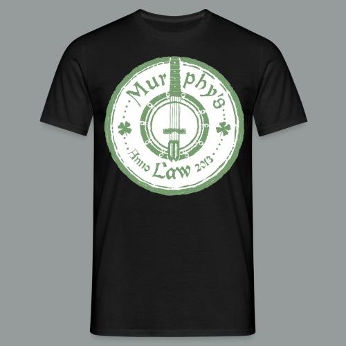 murphys law vit no head - T-shirt herr