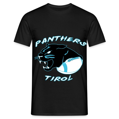 Panthers Logo 2014 Schriftzug Dark png - Männer T-Shirt