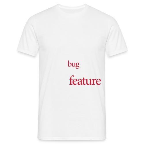 bug featureord - Men's T-Shirt