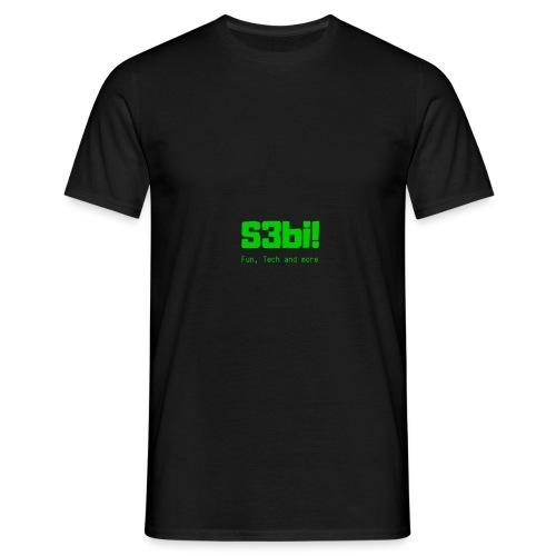 S3bi! Full Logo - Männer T-Shirt