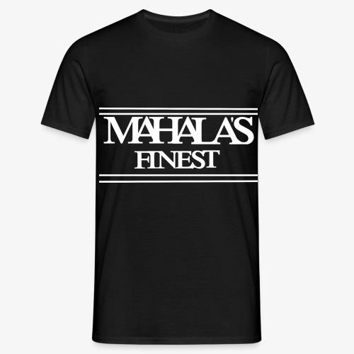 MAHLAS FINEST LOGO 2020 white - Men's T-Shirt