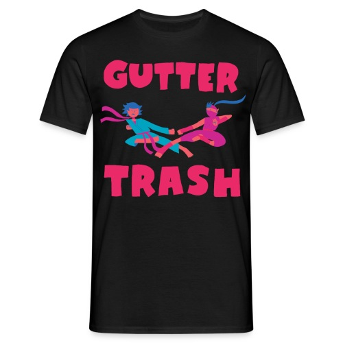 guttertrash4 - Men's T-Shirt