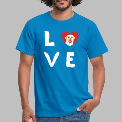 love Labrador Hundebesitzer Hundezüchter Geschenke - Männer T-Shirt