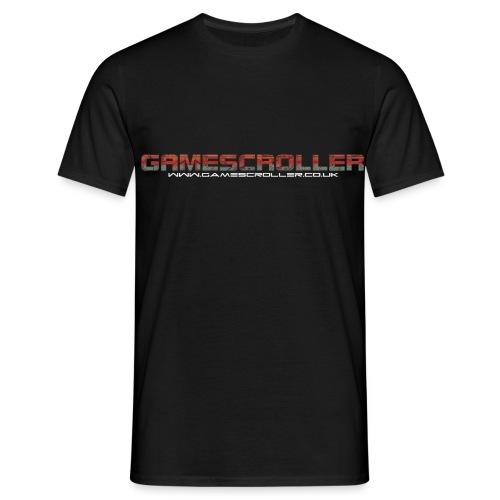Gamescrollertext - Men's T-Shirt