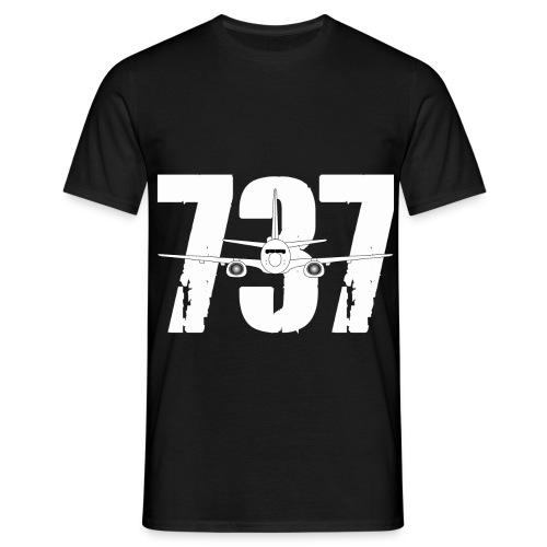 B737 new png - Men's T-Shirt