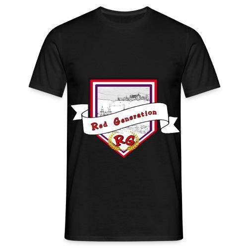 Logo Red Generation - Männer T-Shirt