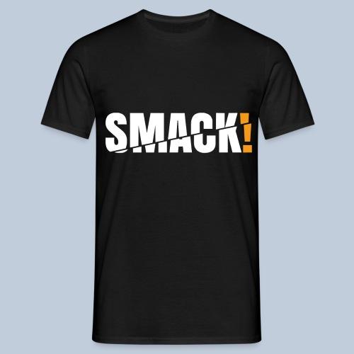 SMACK gross weiss ohne Hintergrund - Männer T-Shirt