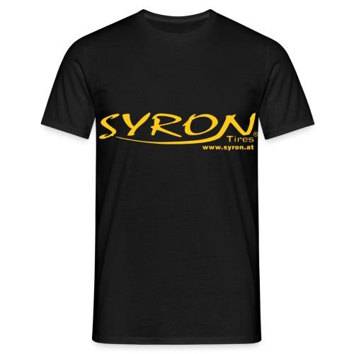 Syron mit Web PX - Männer T-Shirt