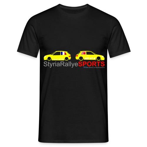 SRS Logo Saxo 2 freigestellt png - Männer T-Shirt
