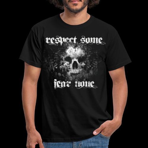 respect some - Männer T-Shirt