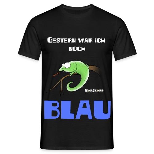gestern new - Männer T-Shirt