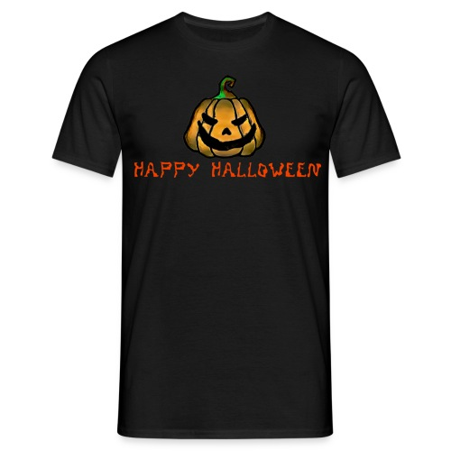 Happy Halloween Pumpkin - Men's T-Shirt