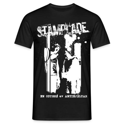 STAMPLADEprint1VIT png - T-shirt herr