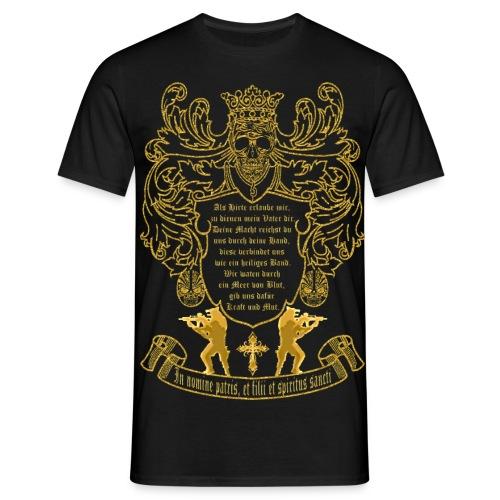 Montana Wappen in Gold - Männer T-Shirt