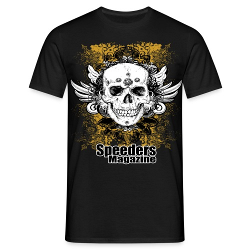 speeders_logo_big - T-shirt herr