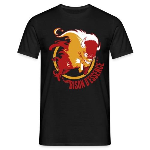 BisonLogo2 png - T-shirt Homme