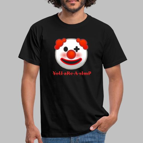 Clown Emoji - Mannen T-shirt