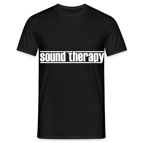 Sound Therapy (white) - T-shirt herr