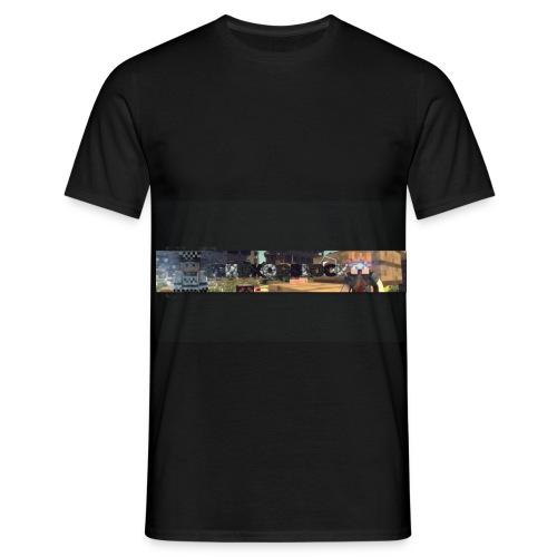 SchokooBlock Banner - Männer T-Shirt