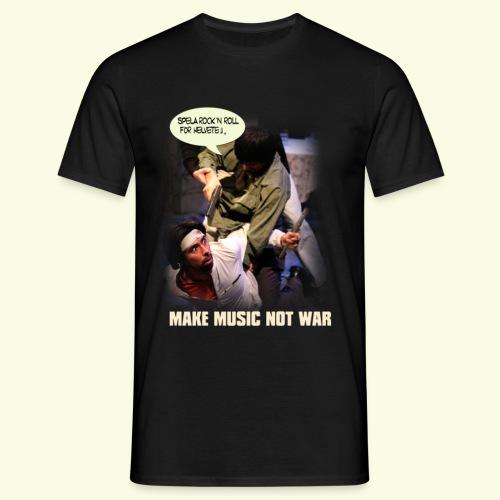 make music not war - Men's T-Shirt