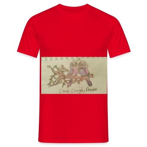 love, laugh. dream - Men's T-Shirt