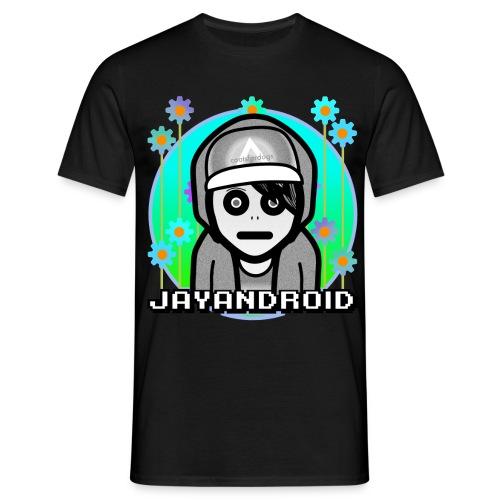 androidflowertee222 png - Men's T-Shirt