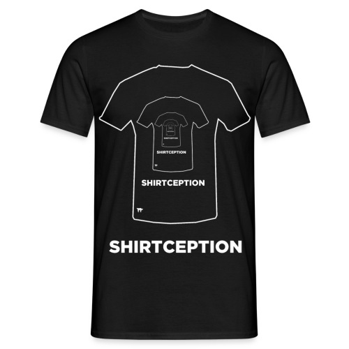 Shirtception02 png - Männer T-Shirt