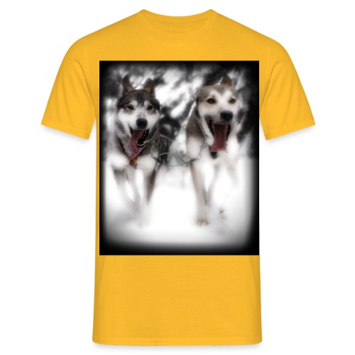 Lead-Dogs Black - Männer T-Shirt