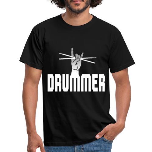 Drummer - Männer T-Shirt