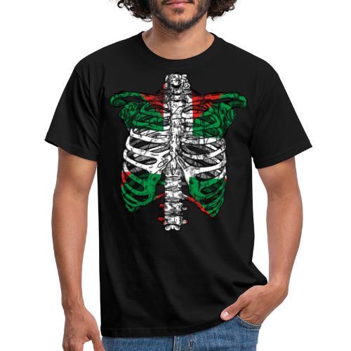 Basqueleton Grunge - Camiseta hombre