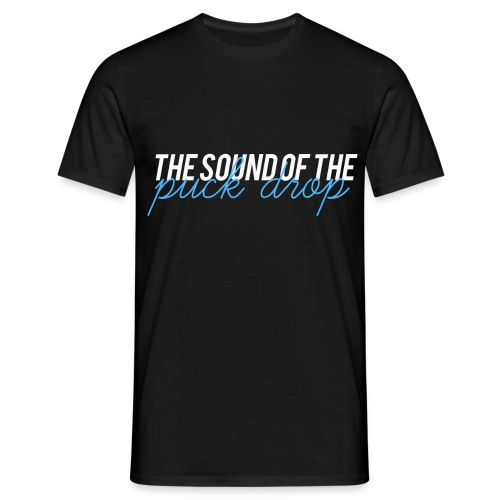 the sound of the puck png - T-shirt Homme