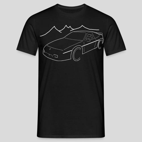 Fiero GT weiss - Männer T-Shirt