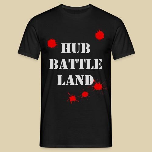 HUb Battle land png - Men's T-Shirt