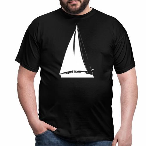 voilier blanc - T-shirt Homme