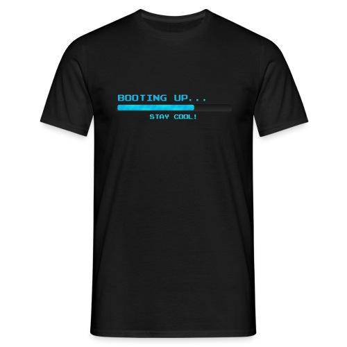 Booting up... - Männer T-Shirt
