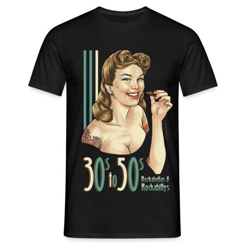 30sto50stshirt3 png - Männer T-Shirt