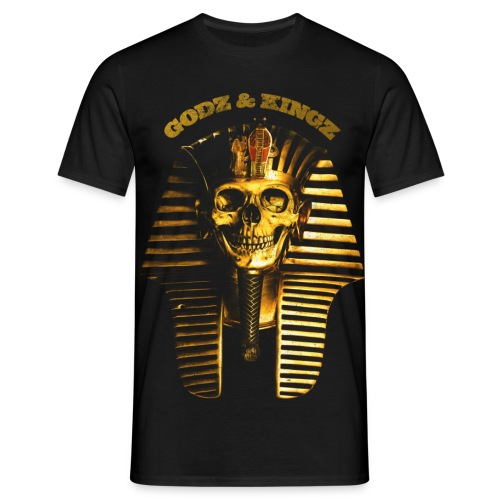 thecrookcats_pharao #gold - T-shirt Homme
