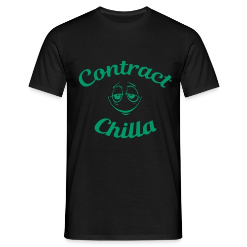 Contract Chilla Smiley - Men's T-Shirt