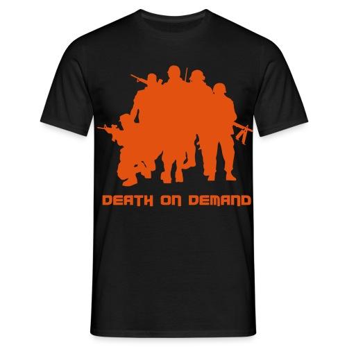 t-shirt_orange von cun - Männer T-Shirt