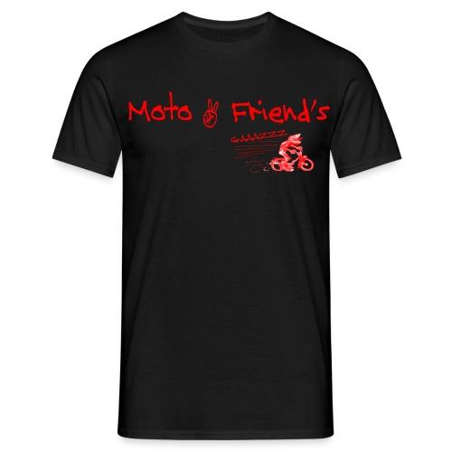 MotoSolexRouge png - T-shirt Homme