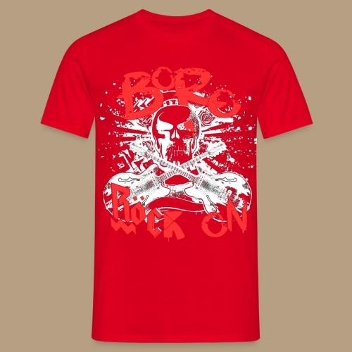 RöckOnRed - Männer T-Shirt