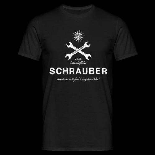 Fahrstahl Schrauber - Männer T-Shirt
