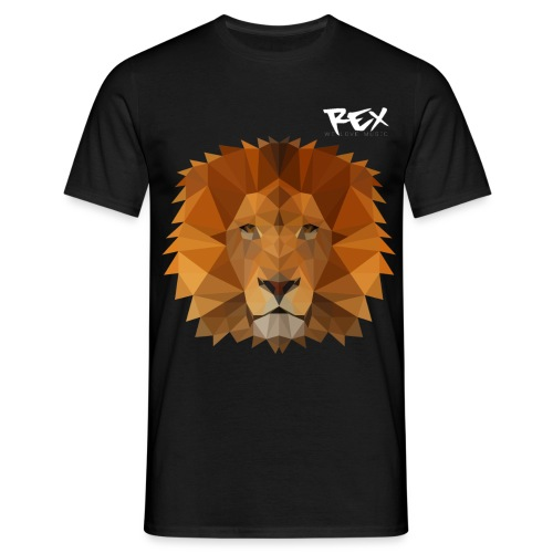 Rex Sounds Lion - Men's T-Shirt