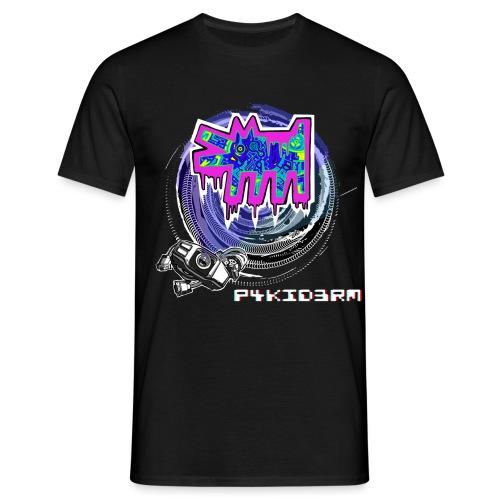 p4kid3rm colored logo - Maglietta da uomo