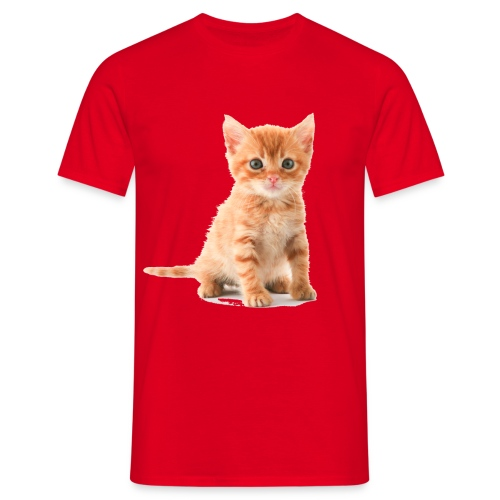 kitten kopia - Men's T-Shirt