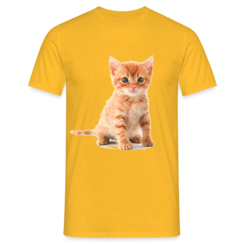 kitten kopia - Men's T-Shirt