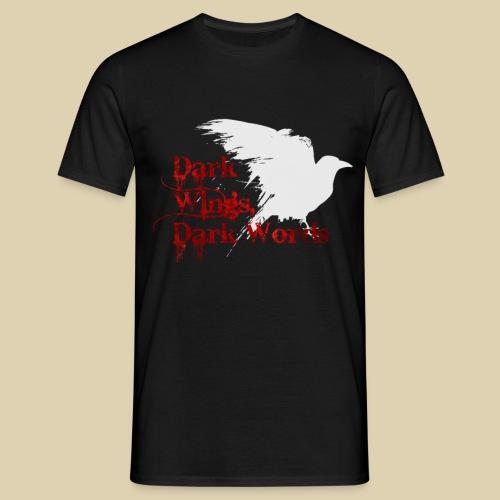 Dark Wings, Dark Words - Men's T-Shirt