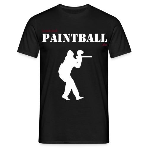 lust auf paintball army player - Männer T-Shirt