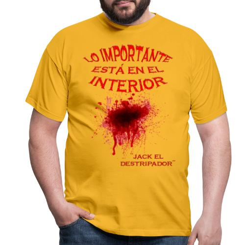 En el interior - Camiseta hombre